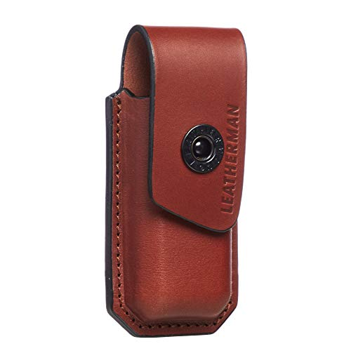 LEATHERMAN, Ainsworth Premium Leather Sheath for Multitools, Fits Charge+, Wave +, Wingman, Rebar & More