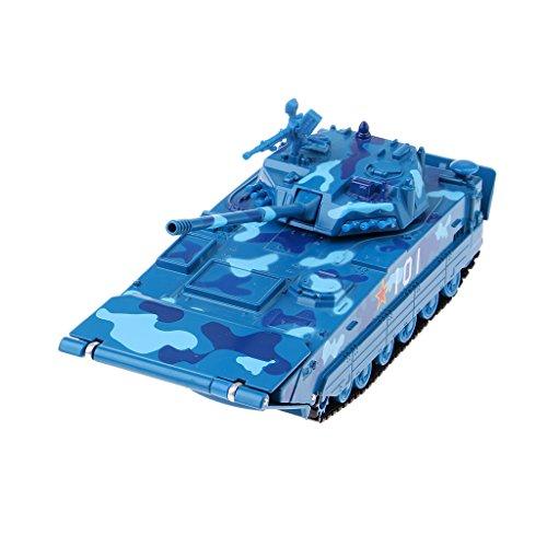 Baoblaze Legierung Militär Flugzeug Panzer Armee Modell Kinder Spielzeug Geschenk
