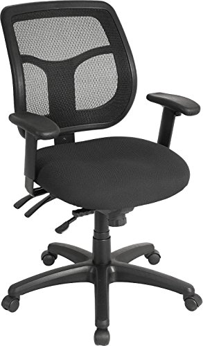 Eurotech Seating Apollo Multi Function Swivel Chair, Black