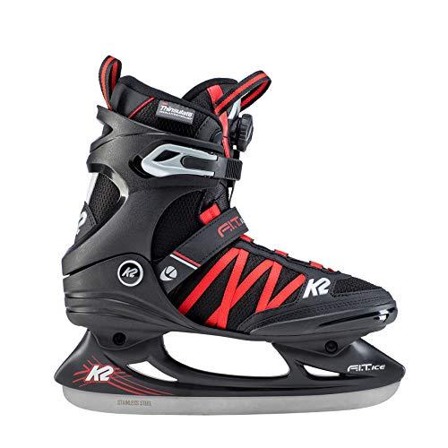 K2 Skates Herren F.I.T. Ice BOA Skates, Schwarz (Black), 47 EU