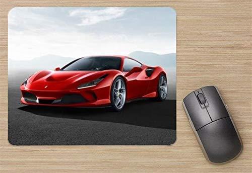 Ferrari F8 Tributo 2020 Mouse Pad, Printed Mousepad
