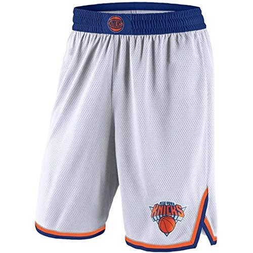 HANJIAJKL Camiseta de Baloncesto para Hombres,NBA Knicks Rookie 9# Butler,Retro Chaleco de Gimnasia Top Deportivo S-XXL,White Shorts,XL