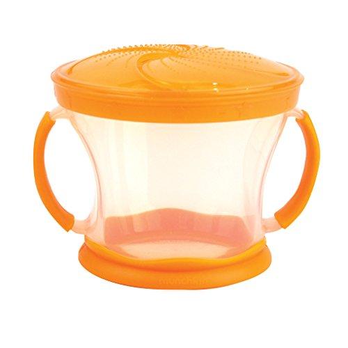 Munchkin Bol pour le Goûter - Snack Catcher - Orange
