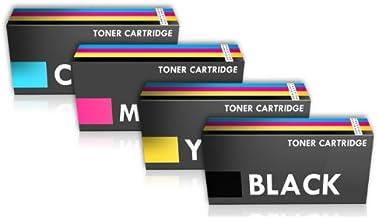 Prestige Cartridge 4 Tóners Compatibles Alta Capacidad con SPC220E (406094, 406097, 406099, 406106) Serie - UN Juego
