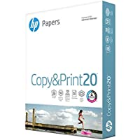 HP 8.5x11 inch Printer Paper (20 lb, 400 Sheets)
