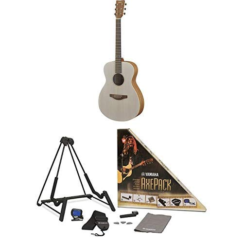Yamaha Storia I Acoustic Guitar with Axe Pack Guitar Accessory Kit for Electric & Acoustic Guitar