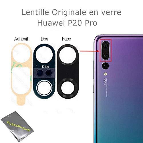 avis huawei photo professionnel FLEXIFON Pour Huawei P20 PRO Vitre de qualité d'origine Vitre de caméra de recul…