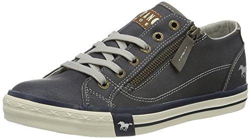 Mustang MUSTANG Damen 1146-302 Sneaker, Blau (800 dunkelblau), 36 EU