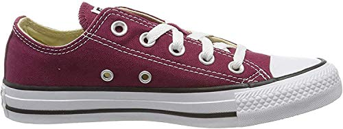 CONVERSE Chuck Taylor All Star Seasonal Ox, Unisex-Erwachsene Sneakers, Rot (Bordeaux), 38 EU
