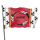 Hsxcci Karuk Tribe 3x5 Flags Feet Outdoor/Indoor Retirement Decoration Family America Flag