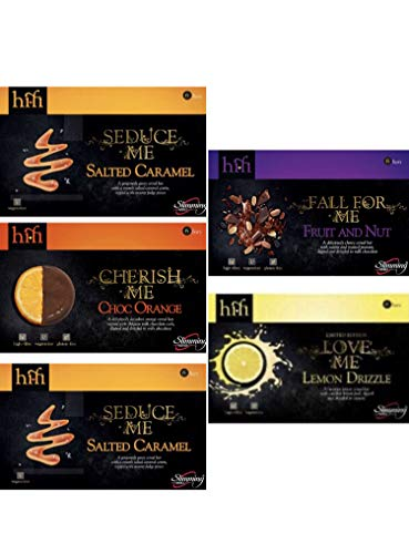 Slimming World HiFi-Riegel, verschiedene Geschmacksrichtungen, 5 Boxen