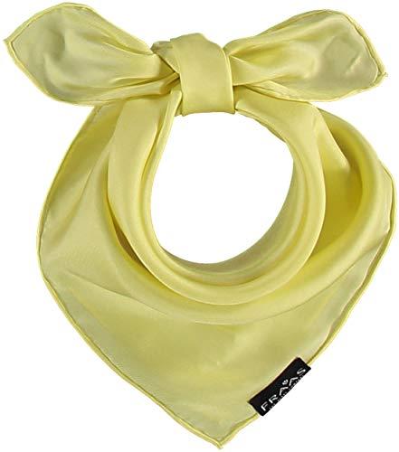 FRAAS Sciarpa da donna realizzata in pura seta al 100% - Sciarpa Nicki da donna - Dimensioni 53 x 53 cm - Bandana in seta, molto chic - Perfetta per la primavera e l'estate