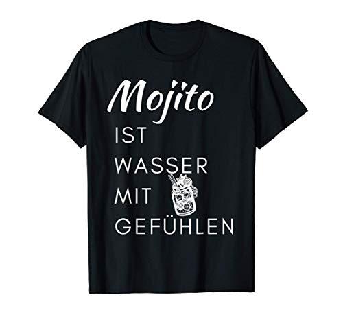 Lustiges Schnaps Alkohol Party Geschenk Mojito Cocktail Sauf T-Shirt