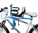 'N/A' Seggiolino per Bicicletta, Seggiolino Anteriore, Seggiolino Regolabile per Bambini da 2 A 7 Anni, Adatto per Mountain Bike, Camper E Bicicletta Pieghevole(Size:Un)