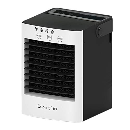 Katigan Ventilador de Enfriamiento Silencioso Alimentado por USB PortáTil Ventilador de Aire Acondicionado Ventilador Sin Hojas de la Oficina en Casa