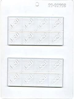 MJ Molds 4:20 Bar Chocolate Mold, Small, Clear