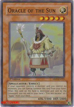 YuGiOh 5D's Absolute Powerforce Single Card Oracle of the Sun ABPF-EN019 Supe... by Upper Deck