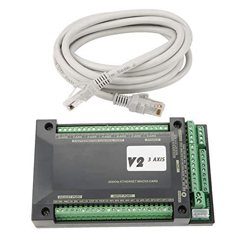 Controlador CNC NVEM de 3 ejes Ethernet MACH3 Tarjeta de control de movimiento para motor paso a paso 11,9 oz