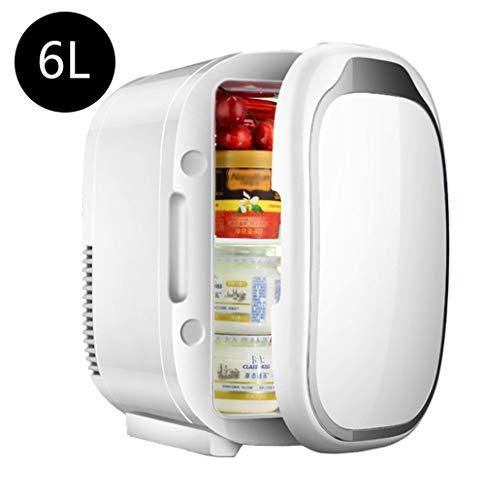 SHENGY Mini-Kühlschrank, 12 V Auto Reisekühler, Kühlung und Heizung, für Arzneimittel, Babymilch, Lagerung von Lebensmitteln, Camping