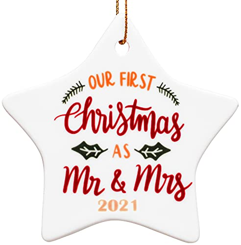 Our First Christmas Ornament as Mr & Mrs 2021 | Gifts for...