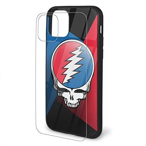 Grate-ful Dead Dancing Bear Skull Tempered Glass iPhone 11 /Pro/Max...