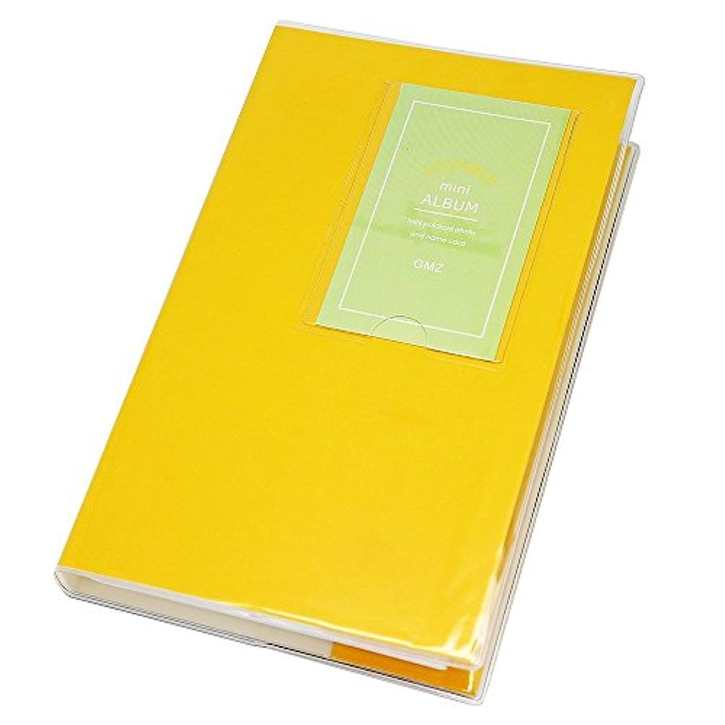 84 Pockets Photo Album for Mini Fuji Instax Polaroid & Name Card Yellow