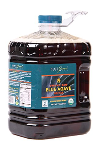 Blue Green Agave Organic Nectar, Raw Blue, 176 Ounce