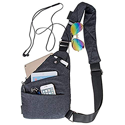 Sling Bag Shoulder Chest Bags Cross Body Backpack Outdoor Sport Travel Hiking