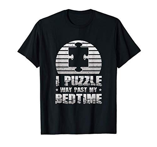 I Puzzle Way past my bedtime Regalo divertido rompecabezas Camiseta