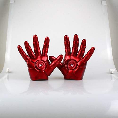 Figure Toys Bambini Toy Modello Iron Man Guanti 1: 1 può Essere Illuminato Ad Alta 20CM - Regali per Bambini