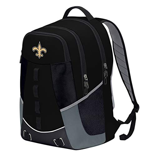 """The Northwest Company Officially Licensed NFL New Orleans Saints """"Personnel"""" Backpack, 19"""", Multi Color"""