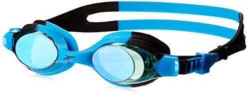 Speedo Unisex-Child Swim Goggles Skoogle Ages 3 - 8, BLACK BLUE/JADE/EMERALD, One Size