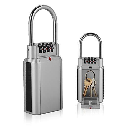 Armadi a Chiave, Lucchetto con Password di Sicurezza, Serratura con Codice in Metallo, Cassetta di Sicurezza con Serratura a Chiave