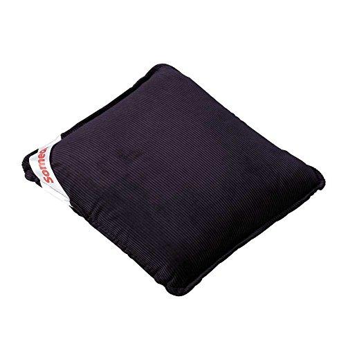 Behrend Someda Vibro Massagekissen Rückenmassagekissen Massage Bezug, Batterien, 30x30cm