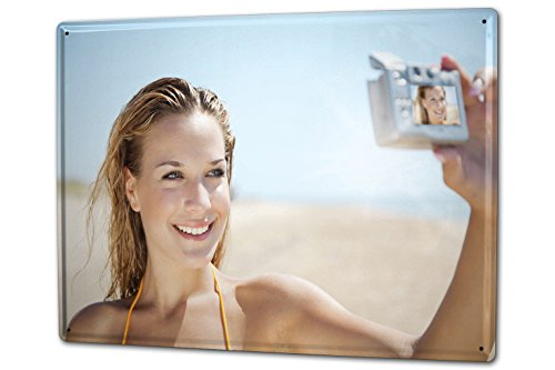 LEotiE SINCE 2004 Ihr Foto Bild auf einem Blechschild 30x40 cm