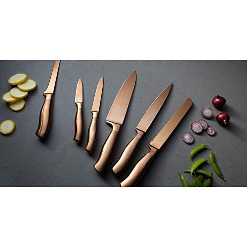 Chicago Cutlery Insignia Steel Matte Bronze 14-piece Block Set