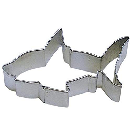 R&M Shark 4.5' Cookie Cutter in Durable, Economical, Tinplated Steel