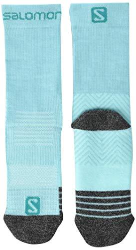 SALOMON Standard Socken, Meadowbrook/Icy Morgen, Lk, Unisex-Erwachsene, Shell-Jacke, SOCKS OUTWARD JR, Mehrfarbig, Mk