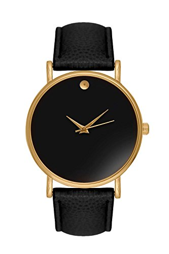 New Trend - Love for Accessories Damen Uhr analog Quarzwerk mit Kunst-Leder-Armband L6-E9R0-MRS8