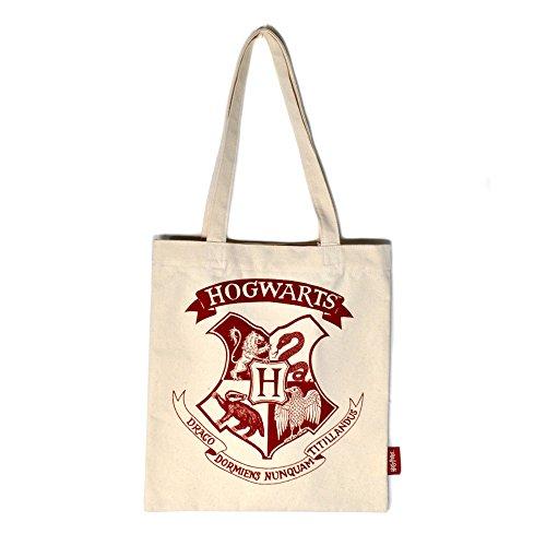 Harry Potter - Bolso de mano para mujer, diseño de escudo de Hogwarts