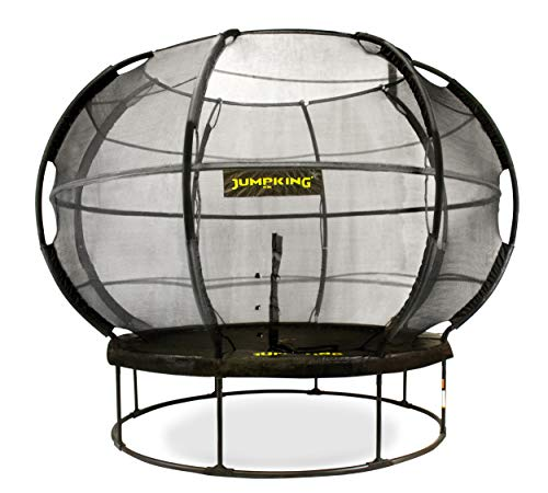 JumpKing Top-trampoline met net en ladder ZorbPOD366 cm zwart
