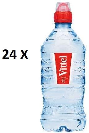 24 Flaschen Vittel Sport PET a 0,75 L ink. EINWEG Pfand Natürliches Mineralwasser