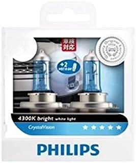 PHILIPS フィリップス 正規品 CrystalVision 4300K H4 12V 60/55W クリスタルヴィジョン 12549CVS2