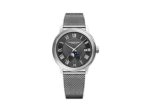 Raymond Weil Maestro Automatik Uhr, 40 mm, Tag, Mondphase, 2239M-ST-00609
