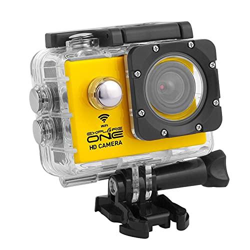 BRESSER ExploreOne WiFi HD Action Camera w/Accessories 88-83004