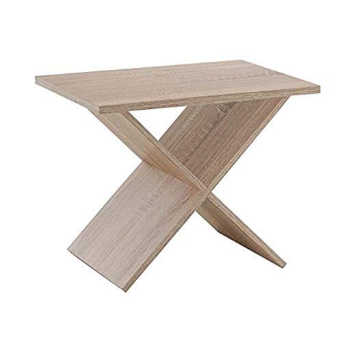 FMD Möbel 628-001 Phil Beistelltisch, Holz, eiche, 54.5 x 38.5 x 43 cm