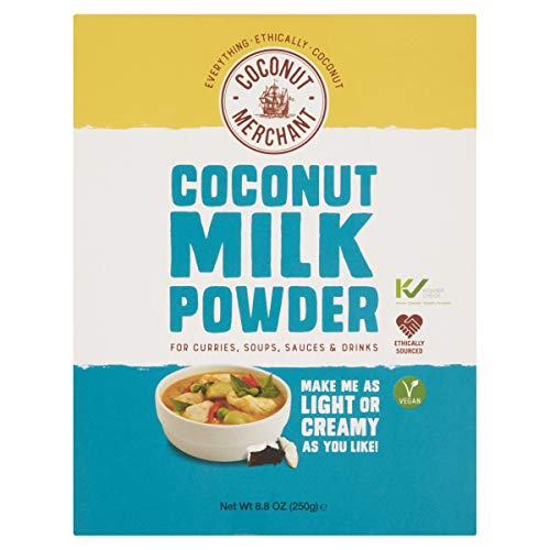 250g Coconut Merchant Latte di cocco in polvere Alternativa vegana al latte in polvere | per curry,...
