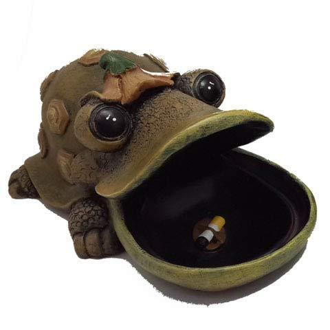 HRSS Harz Aschenbecher großen Mund Schildkröte Krokodil Frosch Aschenbecher Tier Aschenbecher