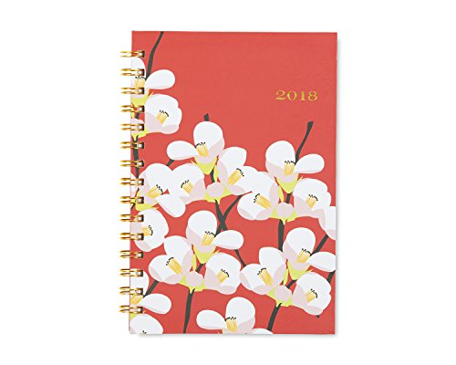 "Snow & Graham for Blue Sky 2018 Weekly & Monthly Planner, Hardcover, Twin-Wire Binding, 5"" x 8"", Quince Photo #3"