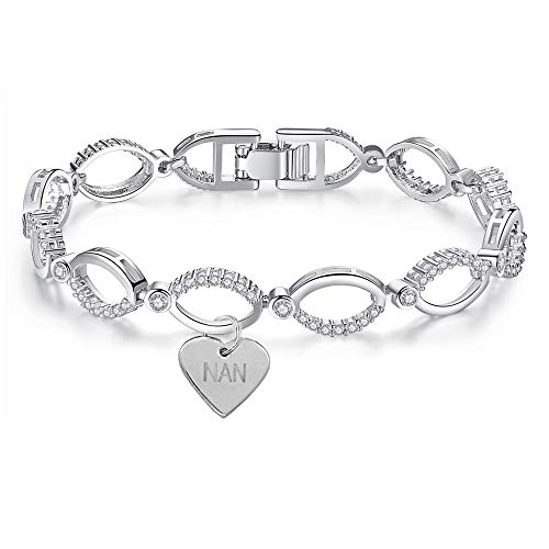 Swarovski Crystal Elements Silver Bracelet Gift Variation (NAN)